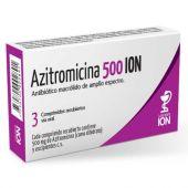 AZITROMICINA 500 MG 3 COMPRIMIDOS