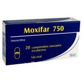 MOXIFAR 750 MG 20 COMPRIMIDOS