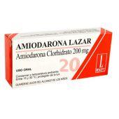 AMIODARONA LAZAR 20 COMPRIMIDOS