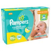 PAÑALES PAMPERS CONFORT SEC