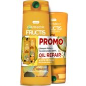SHAMPOO FRUCTIS PACK OIL REPAIR 350 ML + ACONDICIONADOR 200 ML