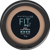 POLVO COMPACTO MAYBELLINE FIT ME MATE NATURAL BUFF