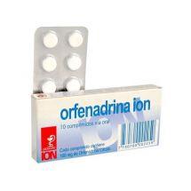 ORFENADRINA ION 10 COMPRIMIDOS