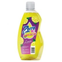 DETERGENTE ZORRO ULTRA LIMON 300ML
