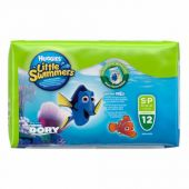 PAÑALES LITTLE SWIMMERS P 12 UNIDADES