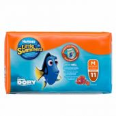PAÑALES LITTLE SWIMMERS M 11 UNIDADES