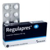 REGULAPRES 50 MG 10 COMPRIMIDOS