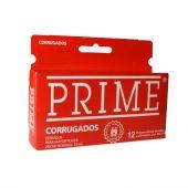 PRESERVATIVO PRIME CORRUGADO X12 UNIDADES.