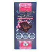 CHOCOLATE NEGRO 72% C/ARANDANOS Y SESAMO