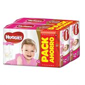 PAÑALES HUGGIES NATURAL CARE ELLAS G X112 PACK AHORRO