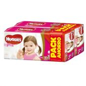 PAÑALES HUGGIES NATURAL CARE ELLAS XXG X84 PACK AHORRO