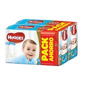 PAÑALES HUGGIES NATURAL CARE TALLE G 112 UNIDADES