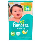 **PAMPERS CONFORT SEC M-72