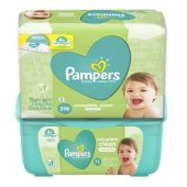 **PAMPERS PACK TOALLITAS+BOX 72 UNI GRATIS