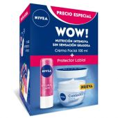 **NIVEA PACK Q10 + LABELLO GLITTER