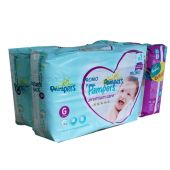 PAMPERS PACK PREMIUM CARE TALLE M 128 UNID