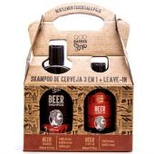 BARBER SHOP KIT BEER SH + LEAVE-IN