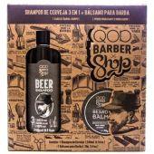 BARBER SHOP SH DE CERVEZA + BAL P/BARB