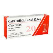 CARVEDILOL 12.5 MG 20 COMPRIMIDOS