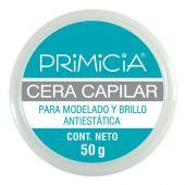 CERA CAPILAR PRIMICIA PARA MODELADO Y BRILLO ANTIESTATICA 50 GRS