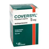 COVERSYL 5 MG 15 COMPRIMIDOS