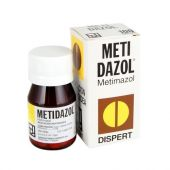 METIDAZOL 5 MG 100 TABLETAS