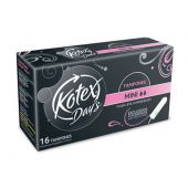 TAMPONES KOTEX MINI X16