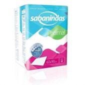 PROTECTOR DE CAMA SABANINDAS X12 UNIDADES 60CMX90CM.