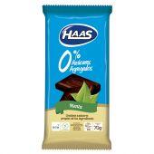 CHOCOLATE HAAS 0% TABLETA MENTA 70GRS