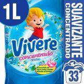 SUAVIZANTE VIVERE CONCENTRADO REPUESTO 1L