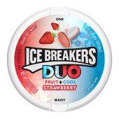CARAMELOS ICE BREAKERS DUO FRUTILLA 36G