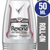 ANTITRANSPIRANTE REXONA MEN ROLLON ANTIBACTERIAL 50ML