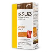 KIT COLOR TINTA ISSUE KERATINA N.8.73