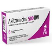 AZITROMICINA 500 MG 6 COMP