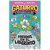 LIBRO GATURRO PERDIDOS EN EL LABERINTO