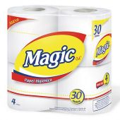 PAPEL HIGIÉNICO MAGIC 30M X4
