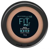 POLVO COMPACTO MAYBELLINE FIT ME MATE SUN BEIGE