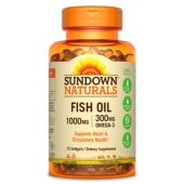 FISH OIL 1000MG GLUTEN FREE 72 CAPSULAS