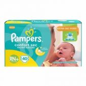 PAÑALES PAMPERS CONFORT SEC RN X40 UNIDADES