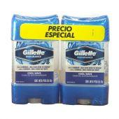 GEL GILLETTE CLEAR COOL WAVE X2 UNIDADES