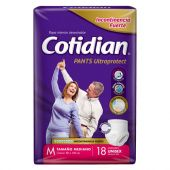 PAÑAL COTIDIAN PANTS ULTRAPROTECT TALLE M X18 UNIDADES