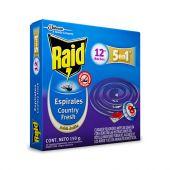 RAID ESPIRALES LAVANDA 12UNI
