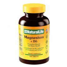 MAGNESIO +B6 NATURAL LIFE 100 COMPRIMIDOS
