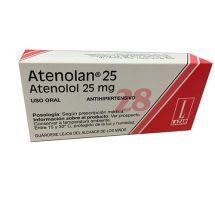 ATENOLAN 25 MG 28 COMPRIMIDOS