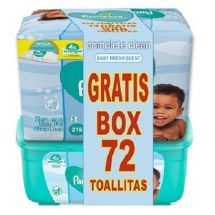 **PAMPERS PACK TOA+BOX 72 UNI AROMA GRATIS