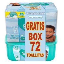 **PAMPERS PACK TOA+BOX 72 UNI AROMA GRATIS
