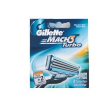 REPUESTO AFEITADORA GILLETTE MACH3 TURBO DISPENSER X2