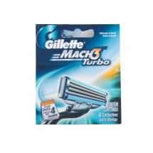 REPUESTO AFEITADORA GILLETTE MACH3 TURBO DISPENSER X4