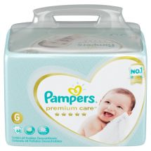 PAMPERS PREMIUM CARE BAG G 68 PAÑALES