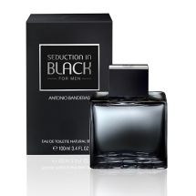 EAU DE TOILETTE ANTONIO BANDERAS SEDUCTION IN BLACK 100 ML